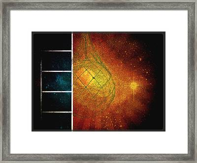 Catching Stars Framed Print by Sherry Dee Flaker