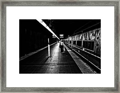 Catching The Five Thirty Framed Print by Karol Livote