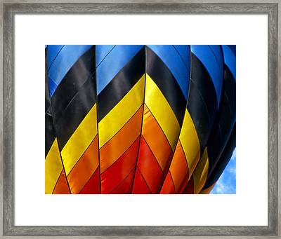 Catching The Light And The Wind Framed Print by Ken Evans