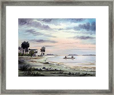 Catching The Sunrise - Hagens Cove Framed Print