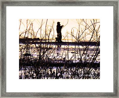 Framed Print featuring the photograph Catching The Sunrise by Robyn King