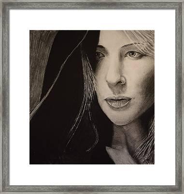Cate Blanchett Framed Print by David Hendrickson