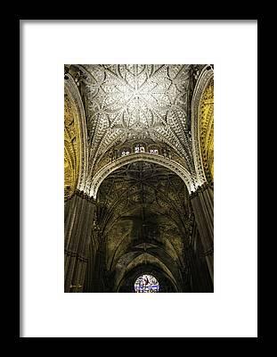 Catedral De Sevilla Framed Prints