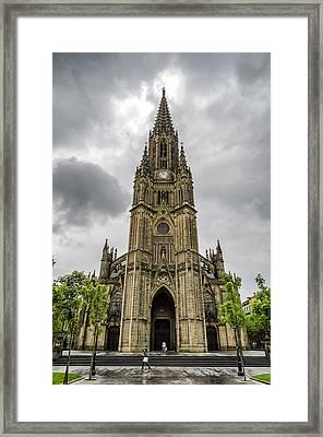 Catedral Del Buen Pastor Framed Print