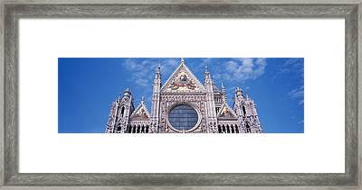 Catedrale Di Santa Maria, Sienna, Italy Framed Print by Panoramic Images