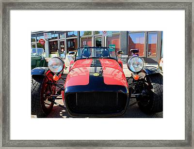 Caterham Super 7 Framed Print