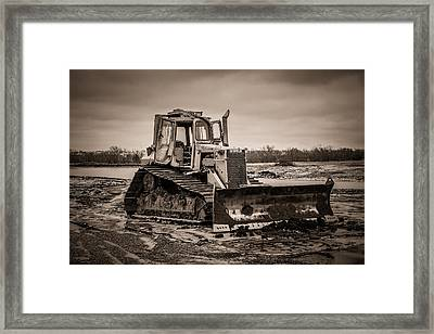 Caterpillar Framed Print