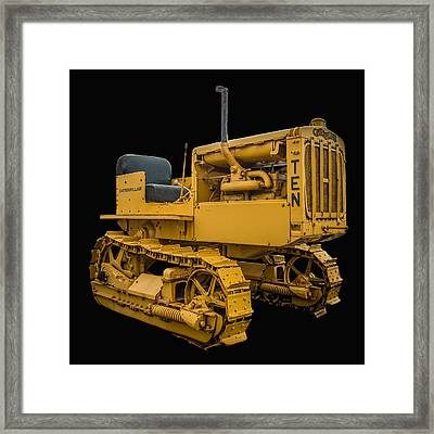 Caterpillar Ten Framed Print by Paul Freidlund