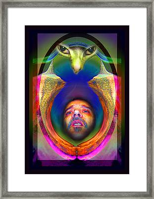 Cateyes Framed Print by Otto Rapp