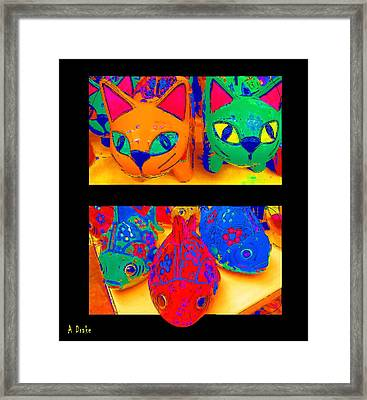 Catfish Framed Print by Alec Drake