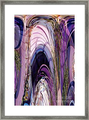 Cathedral 1 Framed Print by Ursula Freer
