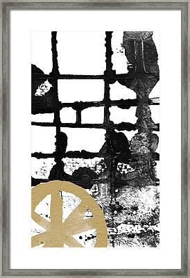 Cathedral- Abstract Painting Framed Print