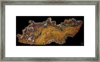 Cathedral Agate Opus01 Framed Print