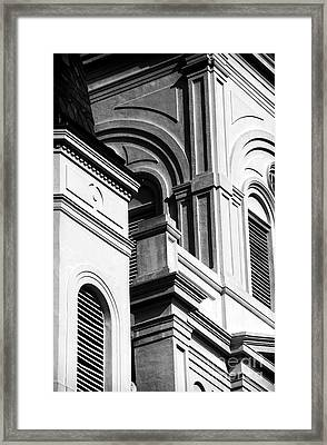 Cathedral Angles Framed Print by John Rizzuto
