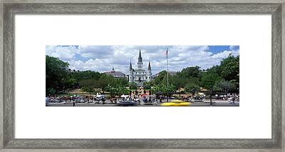 Cathedral At The Roadside, St. Louis Framed Print by Panoramic Images