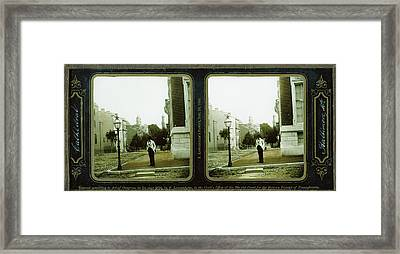 Cathedral, Baltimore, Md. Langenheim Brothers Frederick Framed Print by Litz Collection