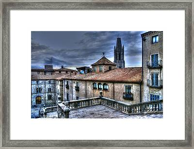 Cathedral Banisters Framed Print by Isaac Silman