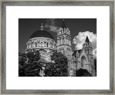 Cathedral Basilica Of St. Louis Framed Print