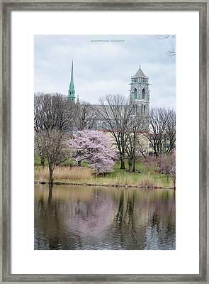Cathedral Basilica Framed Print by Sonali Gangane