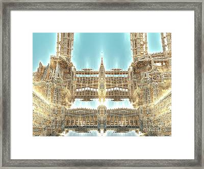 Cathedral Framed Print by Bernard MICHEL