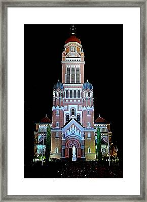 Framed Print featuring the photograph Cathedral by Cecil Fuselier