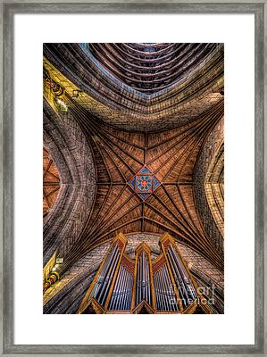 Cathedral Ceiling Framed Print by Adrian Evans