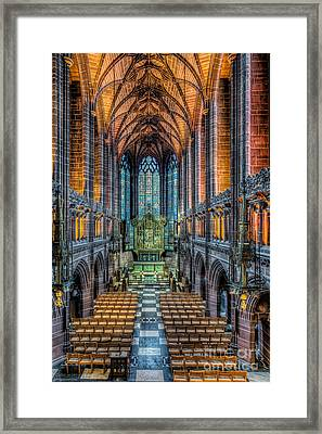 Cathedral Chapel Framed Print by Adrian Evans