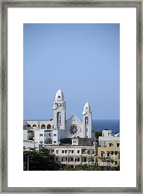Cathedral De San Juan Framed Print