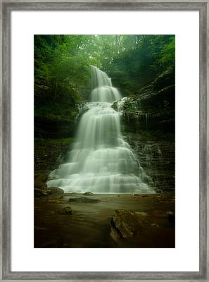 Cathedral Falls Framed Print