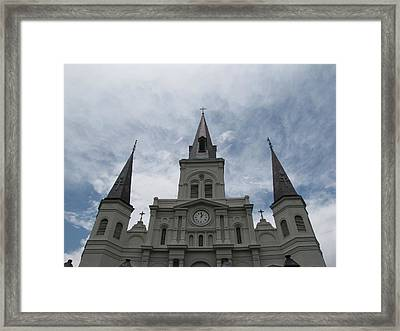 Framed Print featuring the photograph Cathedral I by Beth Vincent