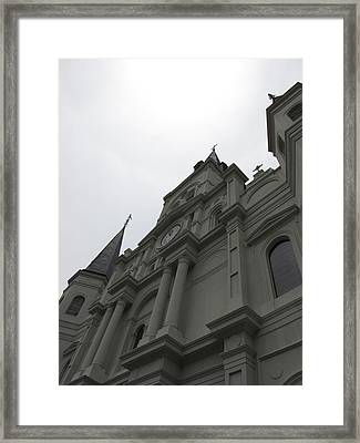 Framed Print featuring the photograph Cathedral II by Beth Vincent