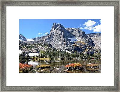 Cathedral In The Park Framed Print