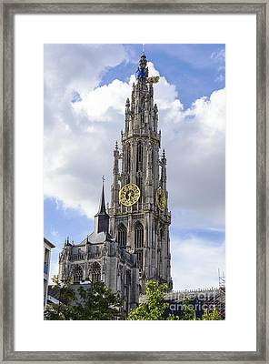 Cathedral In The Sky Framed Print