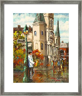 Cathedral Jazz Framed Print by Dianne Parks