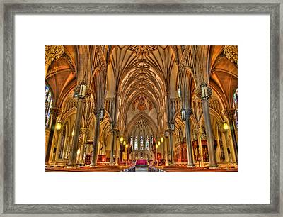 Cathedral Framed Print by Joseph Nuzzo