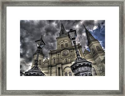 Cathedral New Orleans Framed Print