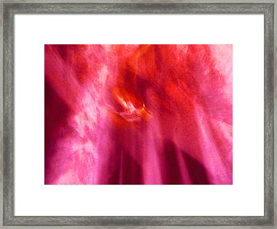 Framed Print featuring the digital art Cathedral Of Fire And Light by Menega Sabidussi