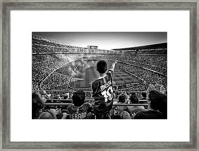 Cathedral Of Football Framed Print