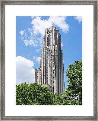 Cathedral Of Learning - Pittsburgh Pa Framed Print