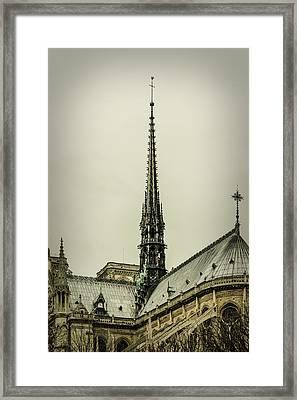 Cathedral Of Notre Dame De Paris II Framed Print