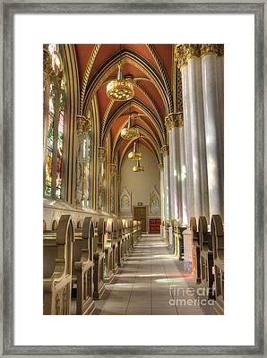 Cathedral Of Saint Helena Framed Print by Juli Scalzi