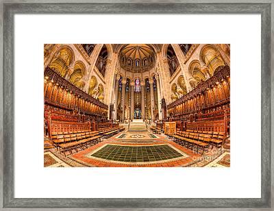 Cathedral Of Saint John The Divine I Framed Print