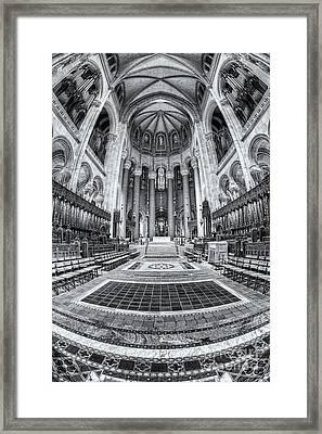 Cathedral Of Saint John The Divine Iv Framed Print