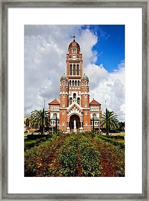 Cathedral Of Saint John The Evangelist Framed Print by Scott Pellegrin