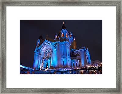 Cathedral Of Saint Paul - Crashed Ice Framed Print by Kevin Jack