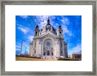 Cathedral Of Saint Paul Framed Print