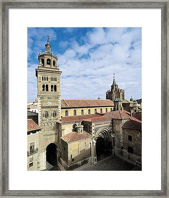 Cathedral Of Santa Mar�a De Mediavilla Framed Print by Everett