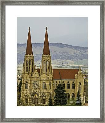 Cathedral Of St Helena Framed Print by Sue Smith