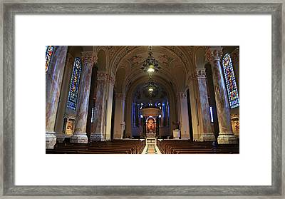 Cathedral Of St. Joseph Framed Print by Stephen Stookey