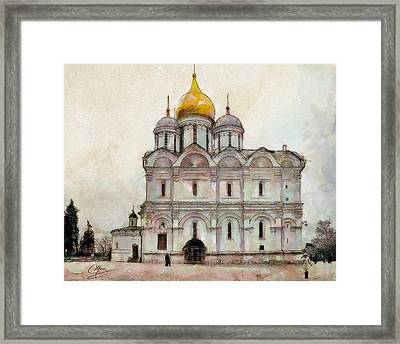 Cathedral Of The Archangel Framed Print